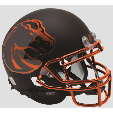 Boise State Broncos Halloween Schutt XP Mini Helmet - Alternate 7