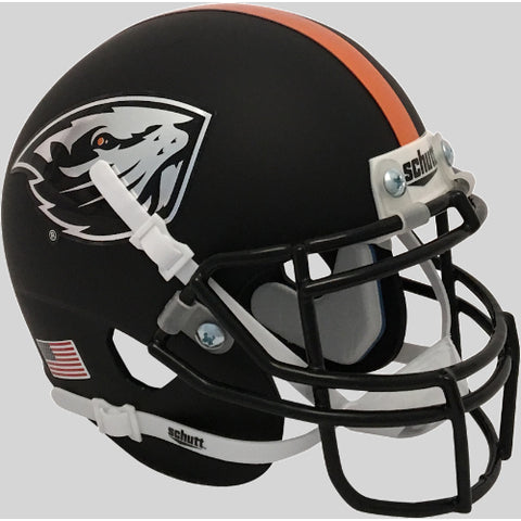 Oregon State Beavers Schutt XP Mini Helmet - Alternate 8