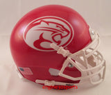Houston Cougars Cougar Logo Schutt XP Mini Helmet - Alternate 3 2