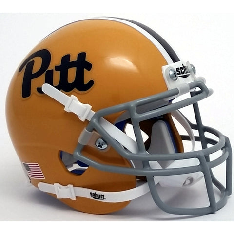Pitt Panthers Schutt XP Mini Helmet - 1973-1979 Throwback