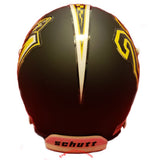 Murray State Racers Schutt XP Mini Helmet Back