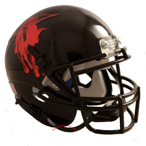 Texas Tech Red Raiders 2013 Holiday Bowl Schutt XP Mini Helmet - Alternate 11