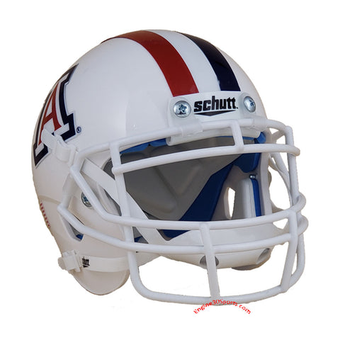 Arizona Wildcats White Schutt XP Mini Helmet - Alternate 1