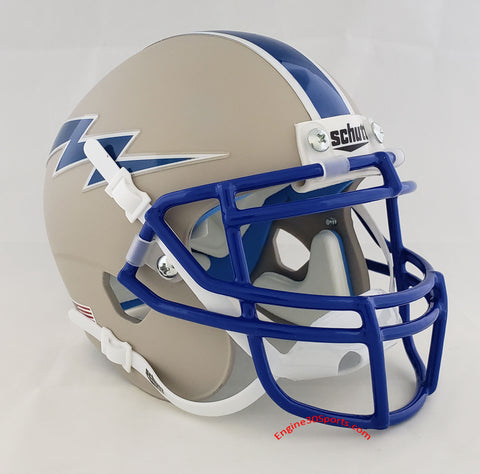 Air Force Falcons Grey Schutt XP Mini Helmet - Alternate 6