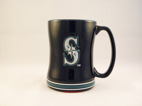Seattle Mariners 14oz Sculpted Coffee Mug
