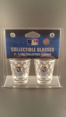Kansas City Royals Shot Glass - 2 Pack