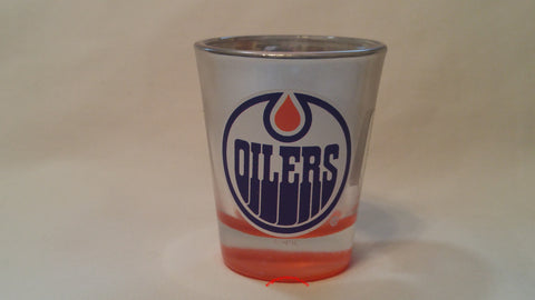 Edmonton Oilers 1.75oz. Mirrored Chrome Shot Glass