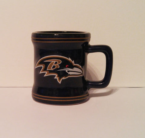 Baltimore Ravens Sculpted Shot Glass
