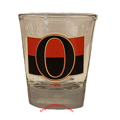 Ottawa Senators 1 ¾ oz Shot Glass