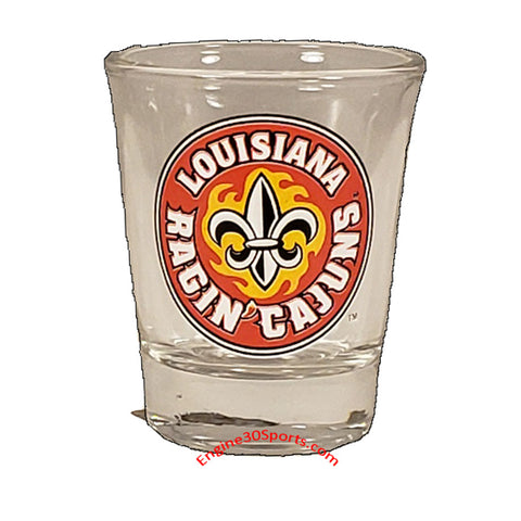 Louisiana Ragin' Cajuns  1 ¾ oz Shot Glass