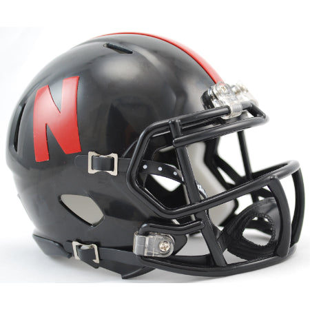 Nebraska Cornhuskers Riddell Speed Mini Helmet - 2012 Black Alternate
