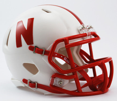 Nebraska Cornhuskers Riddell Speed Mini Helmet