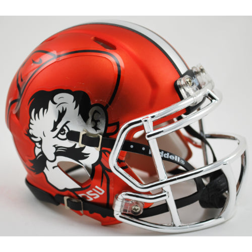 Oklahoma State Cowboys Riddell Speed Mini Helmet - Pistol Pete Alternate