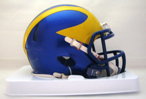 Delaware Blue Hens Riddell Speed Mini Helmet