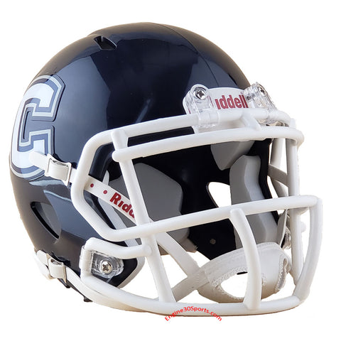 UConn Huskies Riddell Speed Mini Helmet - Block C Logo