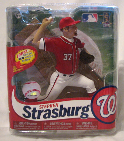Stephen Strasburg Washington Nationals McFarlane MLB Series 31 Variant #/2000