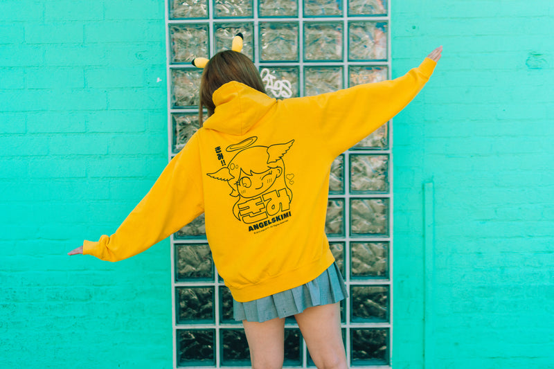AngelsKimi Yellow Pullover