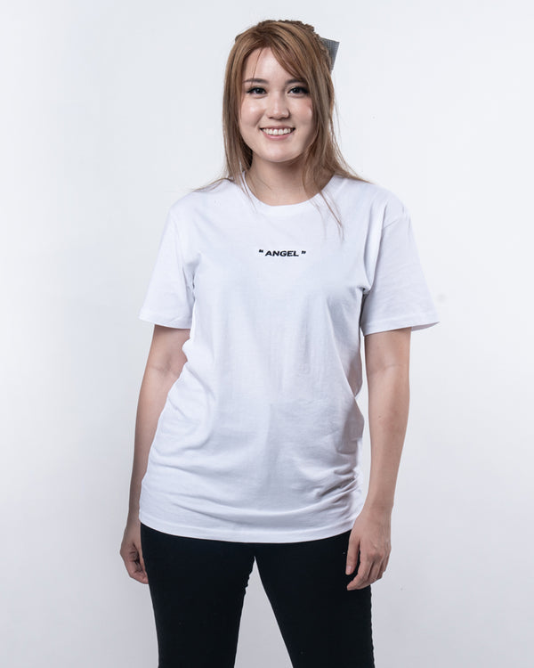 "AngelsKimi ""Angel"" White Tee"