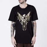 AJSA Black Tee - The Shining Army