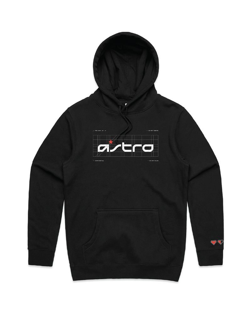 ASTRO Brand Guide Hoodie Black