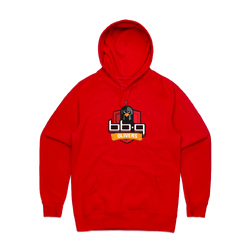 bbq Olivers Red Pullover Hoodie