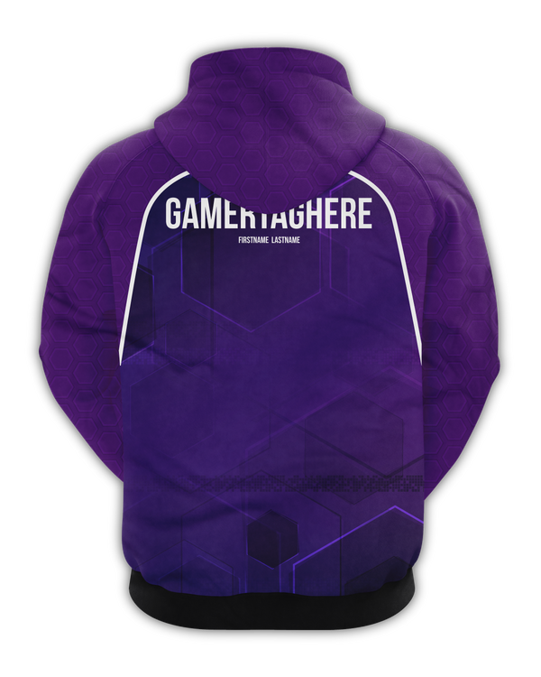 Rectify Esports Zip Hoodie - Lilac