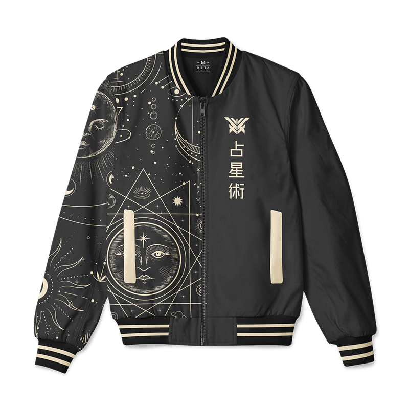 "n00blet  ""Astrology"" Bomber Jacket"