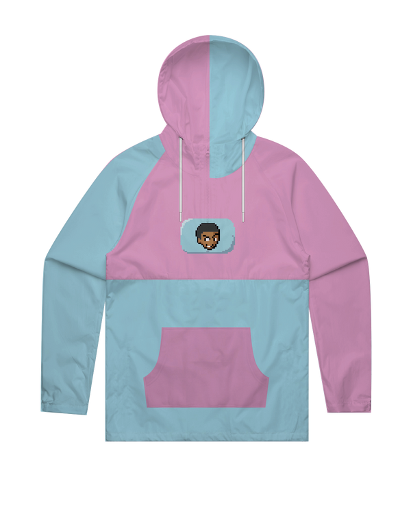 CalebCity Cotton Candy Windbreaker Jacket