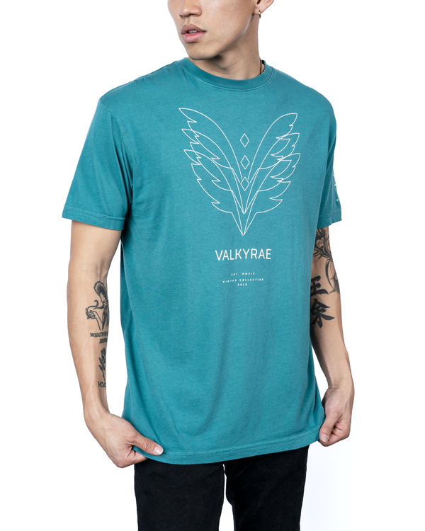 Valkyrae Teal Ascension Tee