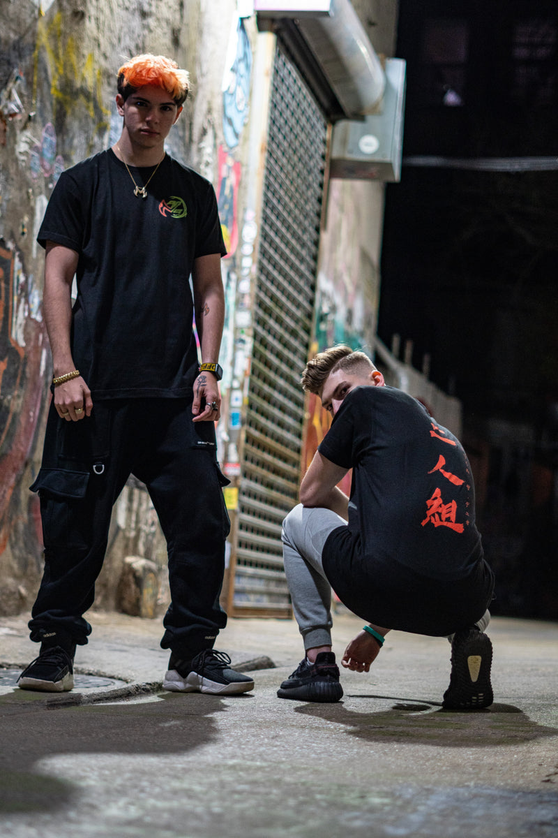 "EliteHQ ""Duo"" Black Tee"