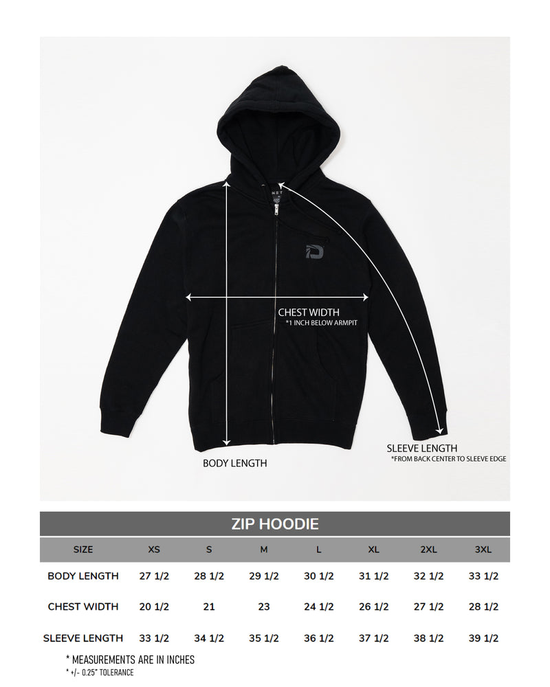 Datto Night Owl Zip Hoodie