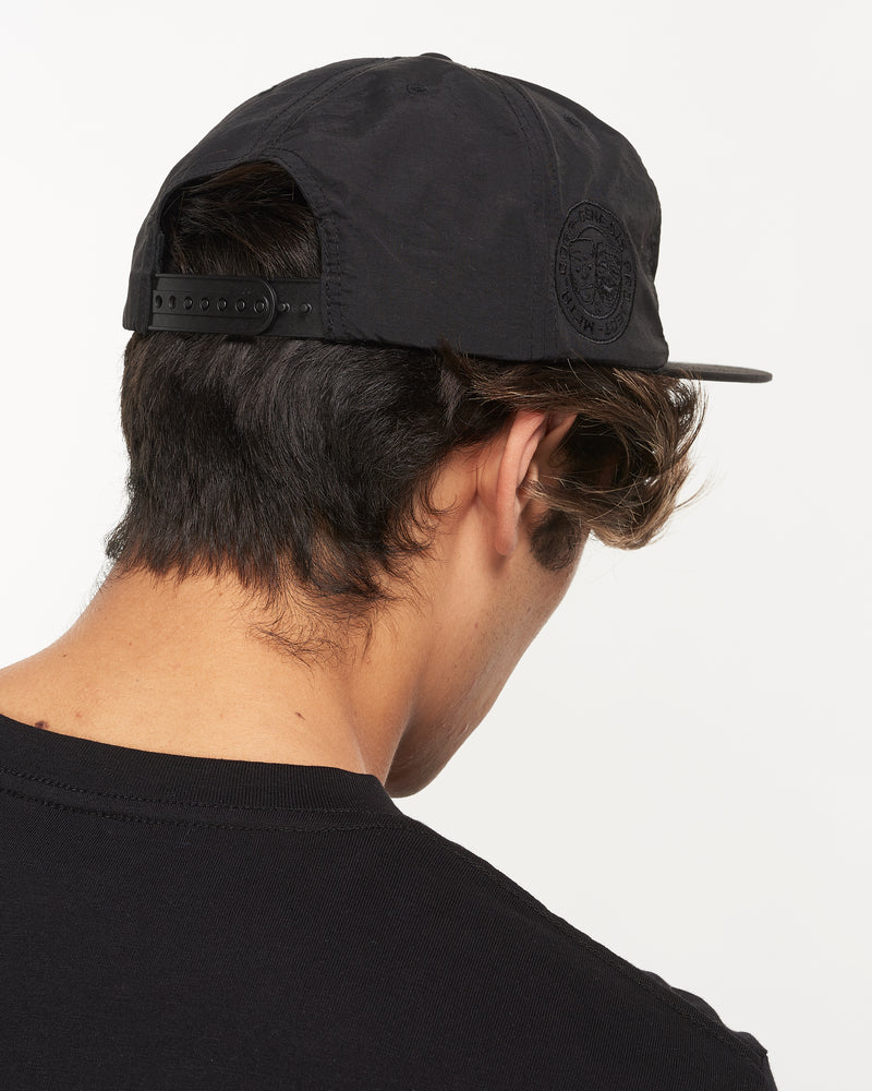 Don't Panic - Black Nylon Snapback