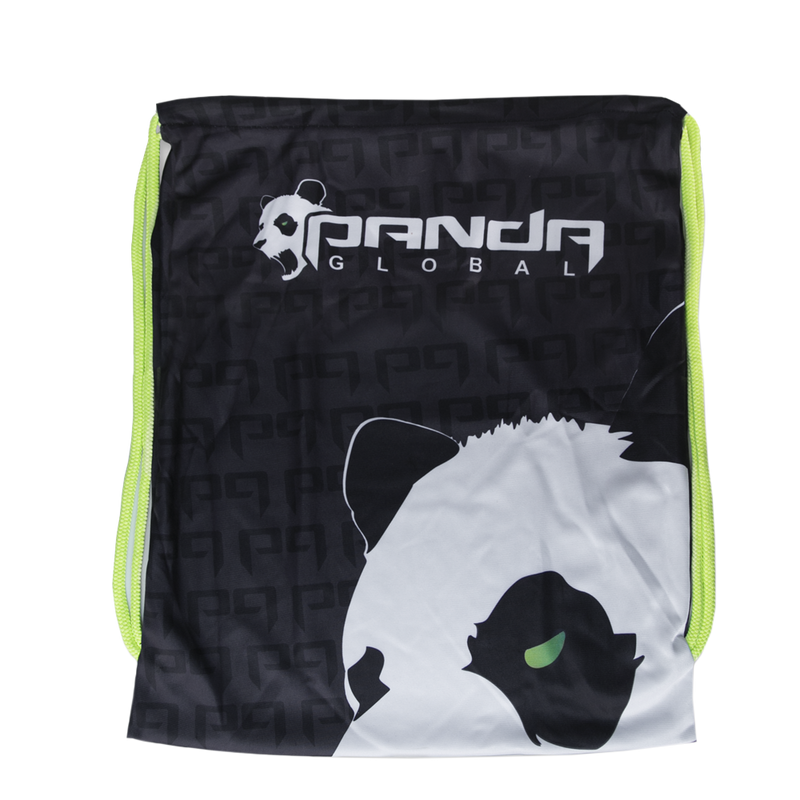 Panda Global Drawstring Bag