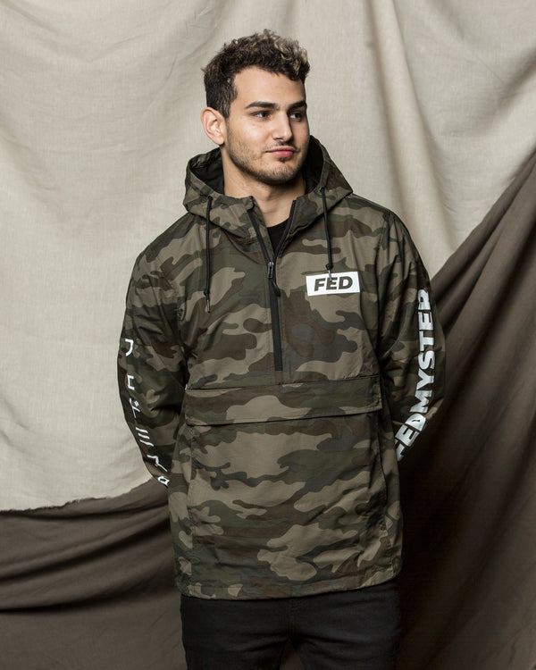FEDMYSTER Camo Windbreaker Jacket