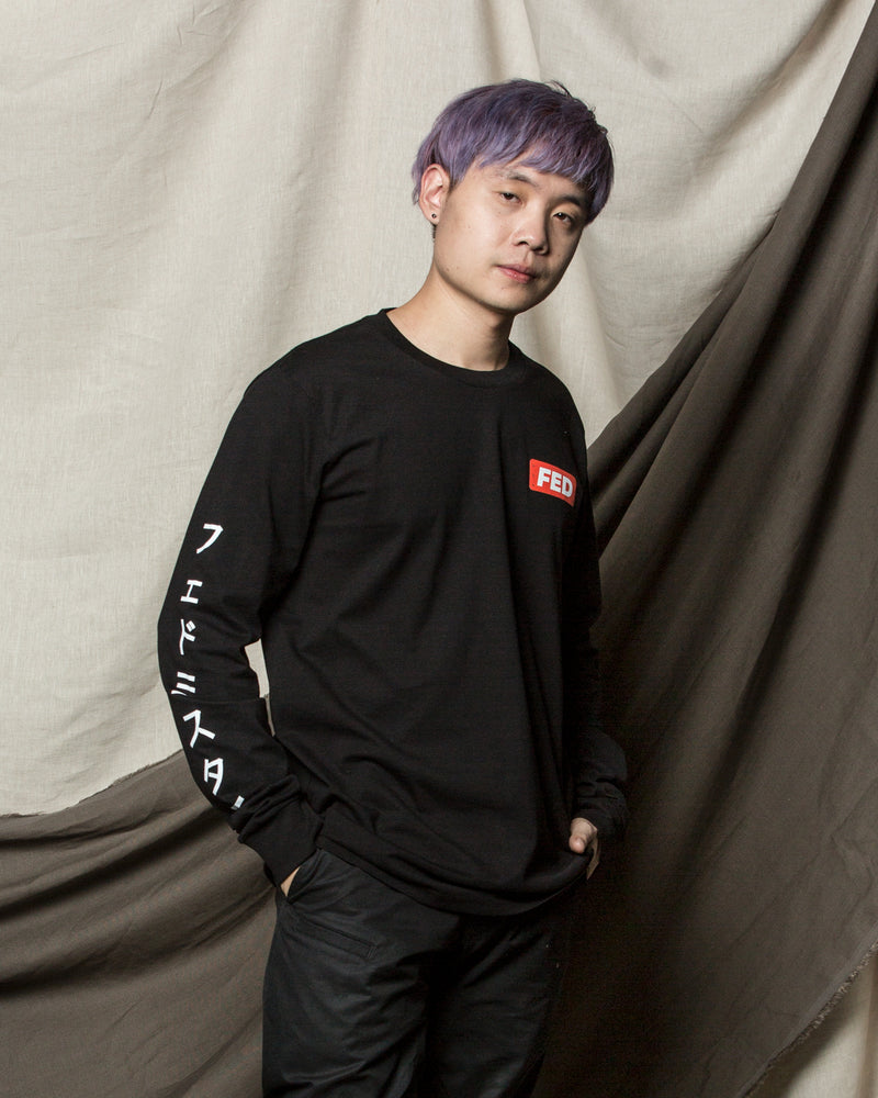 FEDMYSTER Block Long Sleeve Tee