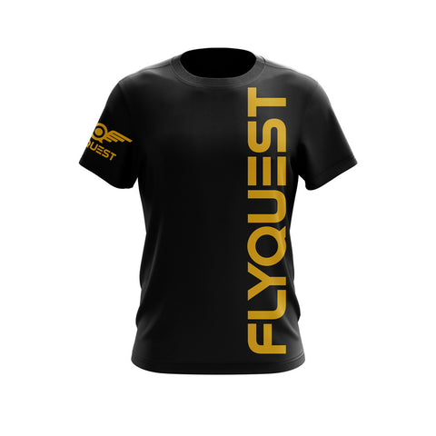 "FlyQuest ""Vertical Black"" DryFit"