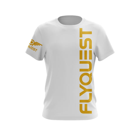 "FlyQuest ""Vertical White"" DryFit"
