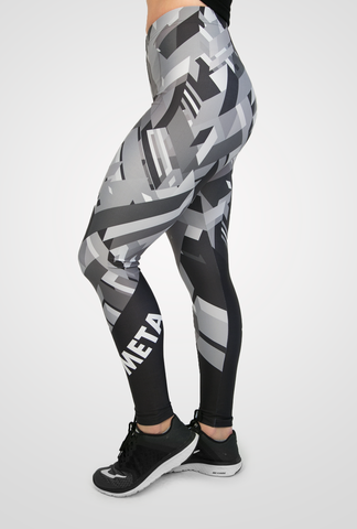 "Meta Threads ""Fracture"" Leggings"