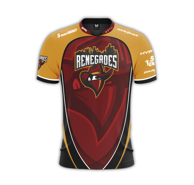 Renegades.Injustice Jersey (WhiteBoi)