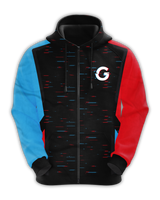GTG Black Zip Up Hoodie