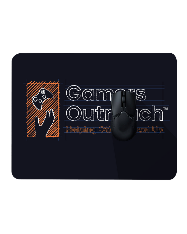 Gamers Outreach Blueprint Mousepad