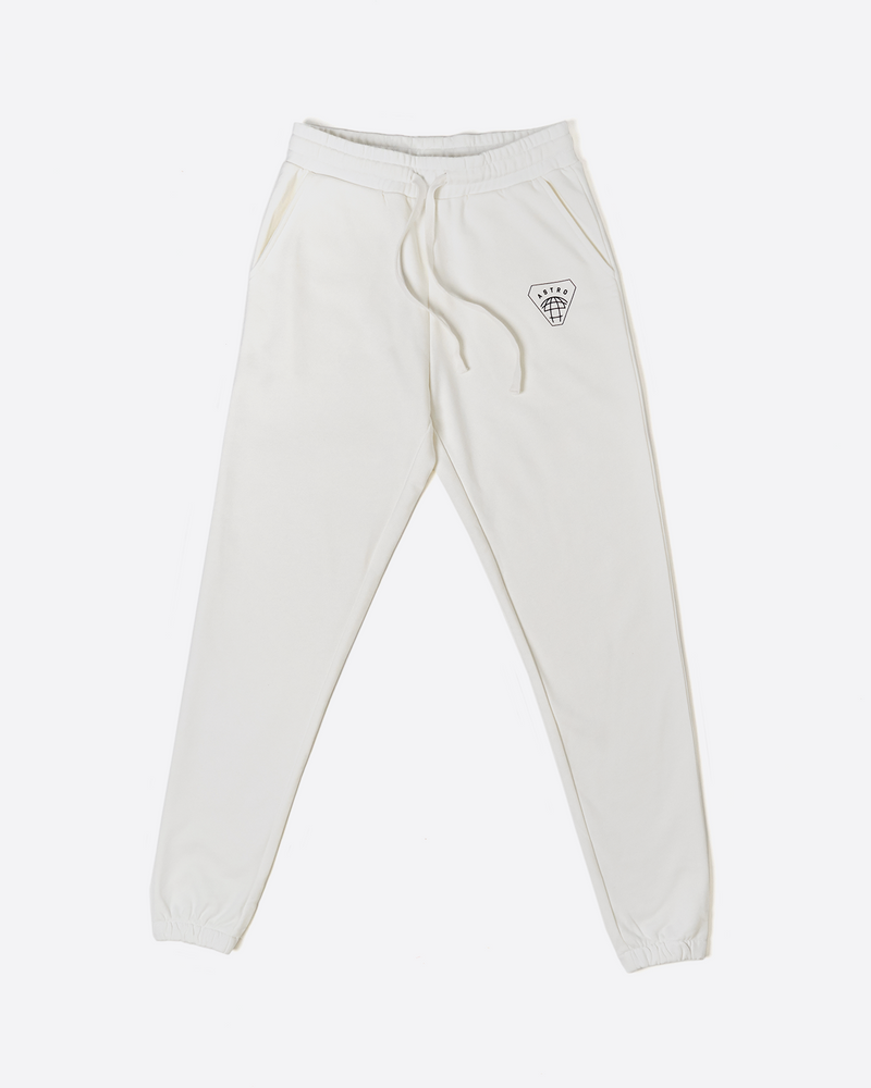 Scattered Joggers - White