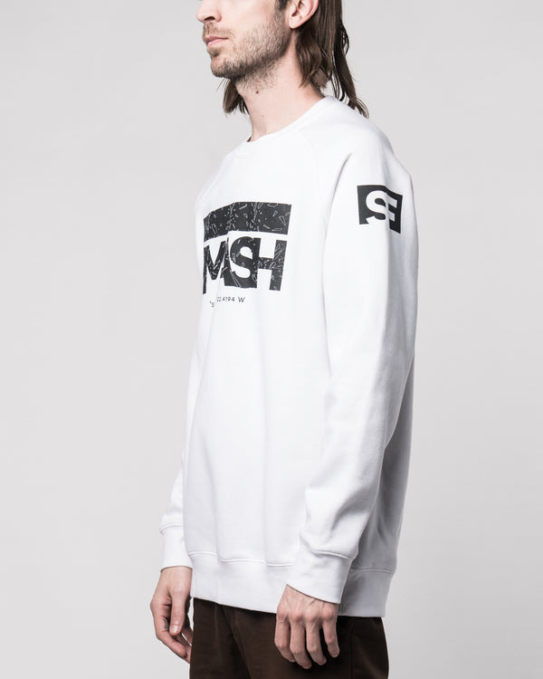 HKSmash SF White Sweater