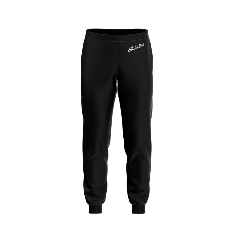 Halocline Black Joggers