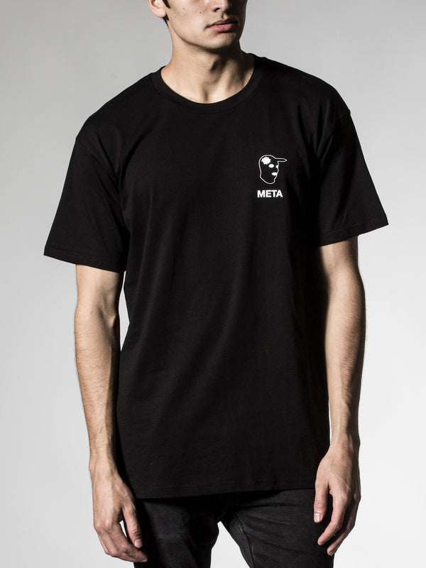 Headshot Black Tee