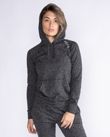 Tama Women's Hoodie - Heather Dark