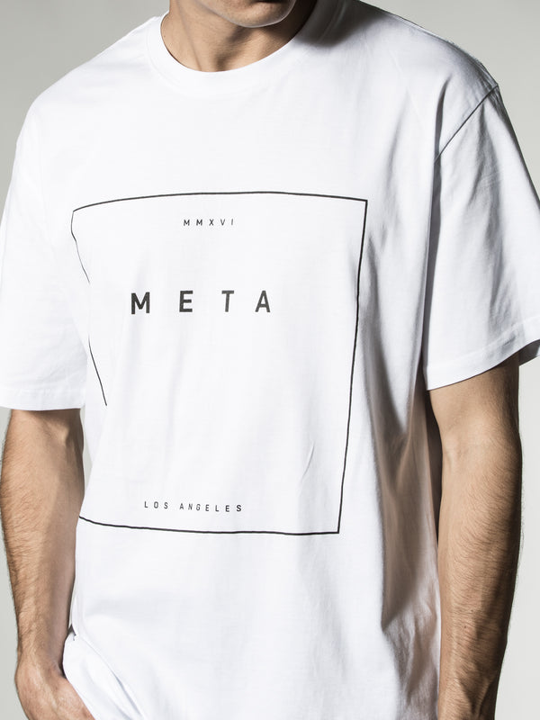 Hit Box White Tee