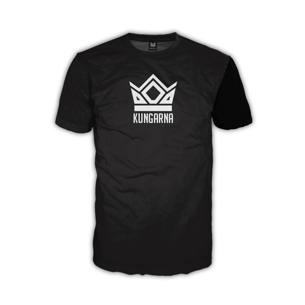 "Kungarna ""Royal Black"" DryFit Tee"