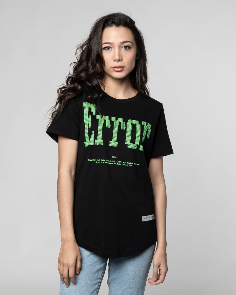 MT-DOS Error Female Tee
