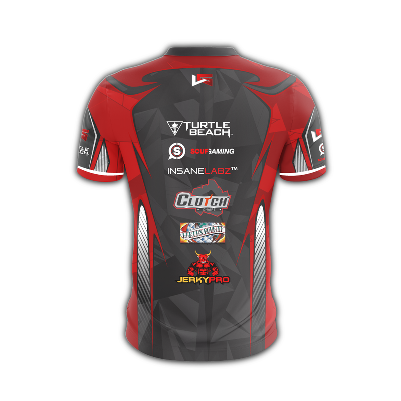 Lethal Gaming Red Jersey (Custom)